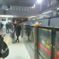 Photo taken at 地铁西二旗站 Subway Xi'erqi by Vova M. on 12/23/2016