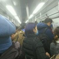 Photo taken at 地铁上地站 Subway Shangdi by Vova M. on 11/21/2016