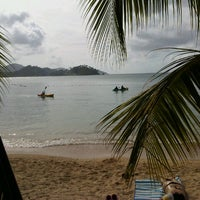 Photo taken at Isla Grande Colon by Oscar A. on 1/14/2013