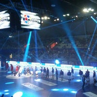 Photo taken at Sportska dvorana Varaždin by Mihályi B. on 4/3/2016