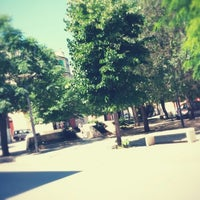 Photo taken at Piazza Caduti di Via Fani by Sabino M. on 6/29/2014
