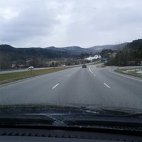 Photo taken at I-89 Exit 8 by Douglas B. on 12/22/2012