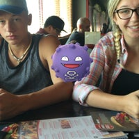 Photo taken at Red Robin Gourmet Burgers by Erik W. on 7/16/2016