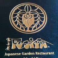 Photo taken at Fujiya Japanese Garden Restaurant by Selina F. on 12/27/2012