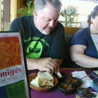 Photo taken at Mi Amigo's Mexican Grill by Valerie L. on 10/26/2012