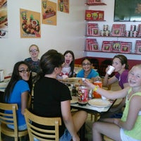 Photo taken at Fox's pizza den by Valerie L. on 10/20/2012