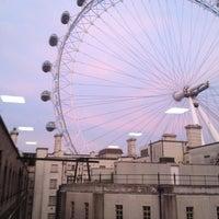 Photo taken at Premier Inn London Waterloo by Satish P. on 11/19/2012