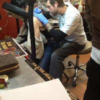 Photo taken at Powerhouse Tattoo Company by Nay . on 4/23/2013