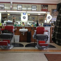 Photo taken at Sams Barber Shop by Jerry R. on 3/23/2013