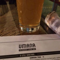 Photo taken at Umana Wine Bar and Restaurant by Shane B. on 3/11/2014