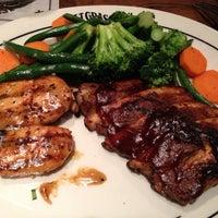 Photo taken at Saltgrass Steakhouse by Vlad on 10/10/2013