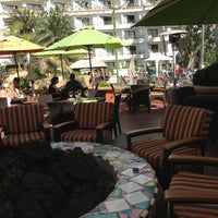 Photo taken at The Waterfront Beach Resort, a Hilton Hotel by Lori K. on 6/22/2013