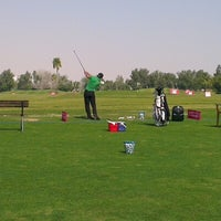 Photo taken at Doha Golf Club by Khaled H. on 1/22/2013