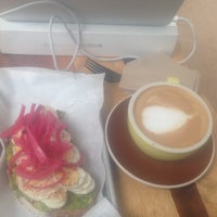 Photo taken at Andante Coffee Roasters by Chris L. on 9/14/2018