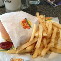 Photo taken at Johnny Rockets by Maria C. on 2/25/2013