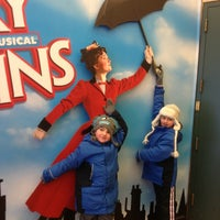Photo taken at Disney's MARY POPPINS at the New Amsterdam Theatre by Maria C. on 2/25/2013