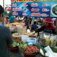 Photo taken at ตลาดนัดเปิดท้าย by Sandee m. on 1/31/2014