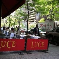 Photo taken at Luce Restaurant & Enoteca by Dakyung J. on 5/10/2013