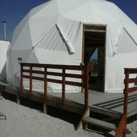 Photo taken at Lodge Punta de Domos by Catalina Victoria M. on 1/28/2013