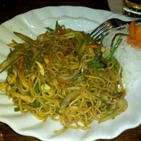 Photo taken at VKI Japanese Steakhouse by Kent C. on 2/5/2013