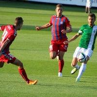 Photo taken at Štadión FK Senica by Matej H. on 8/1/2015