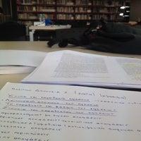 3/8/2014에 Stavros P.님이 EUC Library에서 찍은 사진