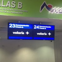 Photo taken at Volaris Ticket Counter by Susana V. on 7/7/2013
