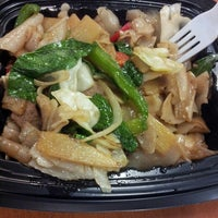 Photo taken at Thai Avenue by Angie C. on 10/15/2013