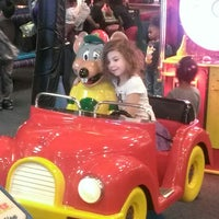 Photo taken at Chuck E. Cheese's by Tony S. on 4/4/2013