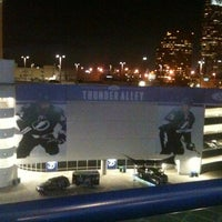 Photo taken at Ford Thunder Alley - West Plaza, Tampa Bay Times Forum by Jose A. on 11/23/2013