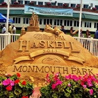 Photo taken at Monmouth Park Racetrack by Barb Y. on 7/28/2013