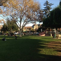 Photo taken at Solvang Park by Xiao X. on 12/9/2012