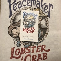 Photo taken at Peacemaker Lobster & Crab by chris g. on 3/1/2018