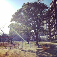 Photo taken at 東領公園 by Hiromitsu K. on 1/8/2015