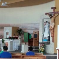 Photo taken at La Transfiguración del Señor by Daniel C. on 7/24/2014