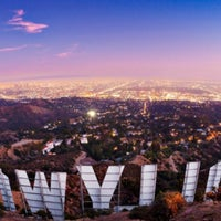 Photo taken at Hollywood Sign by Victor A. on 1/29/2013