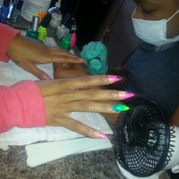 Photo taken at Ray Shine Nails & Spa by Allie I. on 6/13/2013