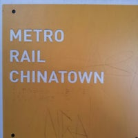 Photo taken at Metro Gold Line - Chinatown Station by Ferez K. on 10/19/2012