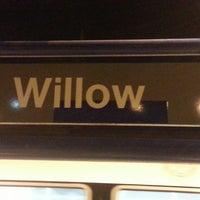 Photo taken at Willow Metro Station by Ferez K. on 6/11/2013