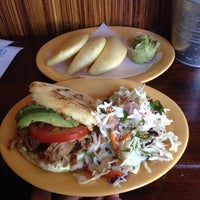 Photo taken at Pica Pica Arepa Kitchen by Chris D. on 10/26/2013