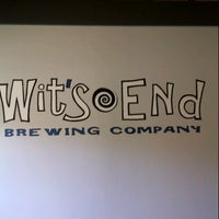Photo taken at Wit's End Brewery by Chris W. on 11/25/2012