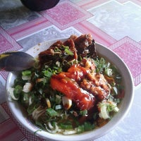 Photo taken at mie ayam kalicacing by Daniel W. on 10/12/2012