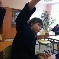 Photo taken at Гимназия № 587 (старшие классы) by Mr. Stepan on 1/11/2013