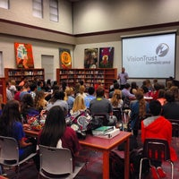Photo taken at Magnolia High School by Mark C. on 2/24/2014