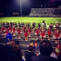 Photo taken at Buddy Moorehead Memorial Stadium by Mark C. on 10/26/2013