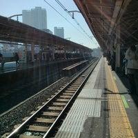 Photo taken at Nishi-nippori Station by Motohiro T. on 3/5/2013