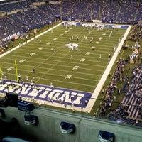 Photo taken at Lucas Oil Stadium by B on 11/4/2012