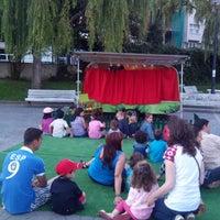 Photo taken at Plaza de la Tolerancia by Jerónimo P. on 8/3/2014