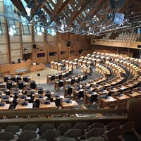 Photo taken at Scottish Parliament by Don M. on 11/28/2016