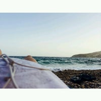 Photo taken at KAPE Sounio Nudist Beach by tru a. on 6/28/2014
